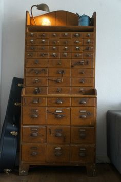 INDUSTRIAL ANTIQUES Antique French closet with 48 draws very nice item from www.benko.nl