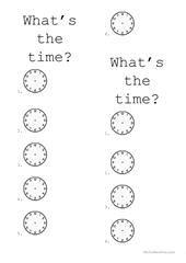 TIME IS ON MY SIDE worksheet - Free ESL printable worksheets made by teachers