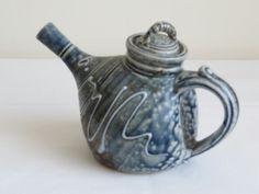 Barry Huggett, Cornwall. Salt glazed teapot