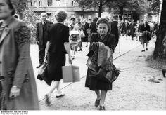 Berlin-Pankow,Schwartzmarkt Juli 1947