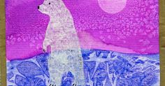 Last year I did a post on my Polar Bears but did not have many pictures of it's adaptation for the classroom. I completed this year's P. Winter Art Projects, Winter Crafts For Kids, Art For Kids, Preschool Art, Preschool Winter, Artic Animals, Creative Journal, Bear Art, Polar Bears