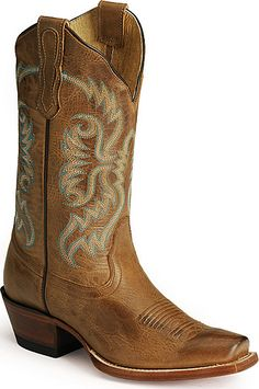 These boots are made for walking. Nocona Vargas Old West boots :)