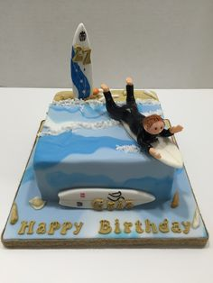 Surfing cake - Feb 2016