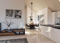 © STOMEO Visualisierungen - Zürich Oversized Mirror, Gallery Wall, Furniture, Home Decor, Architecture Visualization, Real Estates, Floor Layout, Decoration Home, Room Decor