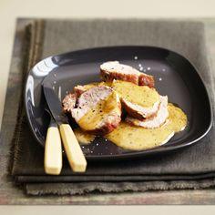 Découvrez la recette Filet mignon à la normande sur cuisineactuelle.fr.