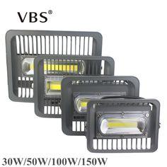 LED Floodlight 150W 100W 50W 30W IP66 Projecteur Led Exterieur Led Flood Light 220V 110V LED Chip for Led Reflector Spotlight