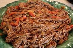 Cuban Ropa Vieja  So I got Eva Longoria's new cookbook, Eva's Kitchen , and let me tell you that it is amazing! I rarely buy cookbooks, but...