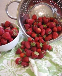 National Strawberry Day- Its National Strawberry Day! One of my favorite garden treats has its very own special day. Who knew? Our garden is abundant with beautiful berries. I have always loved strawberries. I eat fresh strawberries nearly every day, all year round. But the best ones come from our