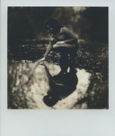 Ali's Reflection 1 by LioraImpossible. (The Impossible Project – Analog film for Polaroid cameras). Multiple Exposure, Double Exposure, Instax Mini 90, Fast Shutter Speed, Impossible Project, Le Double, Instant Film Camera, Holga, Light Reflection