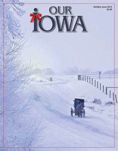 Beautiful cover on the Our Iowa magazine