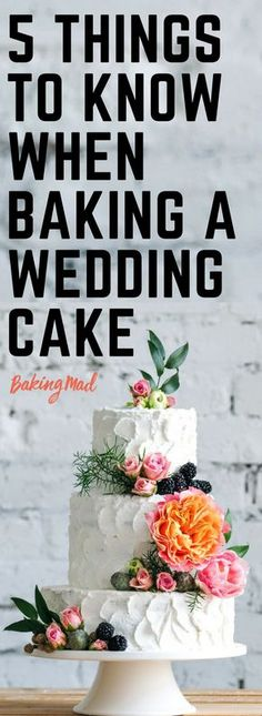 Things To Know Before Baking a Wedding Cake Our baking experts have some top tips to share with you if you're baking your own wedding cake.Our baking experts have some top tips to share with you if you're baking your own wedding cake. Vegan Wedding Cake, Diy Wedding Cake, Small Wedding Cakes, Wedding Cake Decorations, Wedding Cake Designs, Homemade Wedding Cakes, Wedding Cake Tutorials, Naked Wedding Cake Recipe, Wedding Cake Recipes