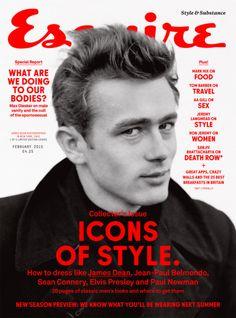 5 Film Icons cover British Esquire February 2015