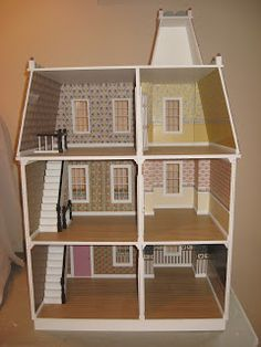 Little Darlings Dollhouses: Finished Alison Dollhouse