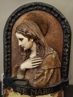 Under The Tuscan Sun, Italian Christmas, Blessed Virgin Mary, Statue, Painting, Decor, Art, Malaysia, Hail Mary