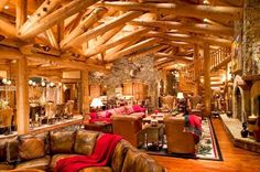 Now here is a beautiful barn to live in!