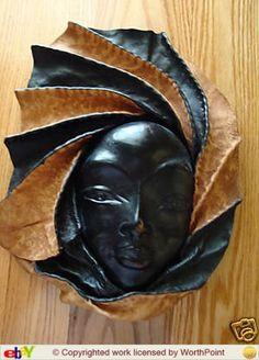 Haitian Leather Mask