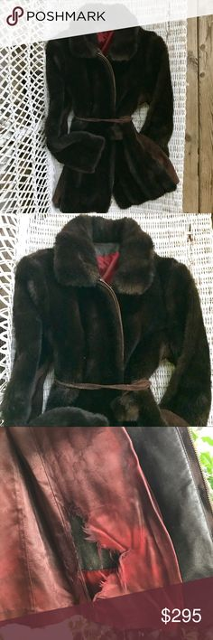 {TISSAVEL of FRANCE} 1930s Vegan Fur Coat ☝️FULL DESCRIPTION IN LAST TWO PHOTOS☝️ Tissavel of France Jackets & Coats