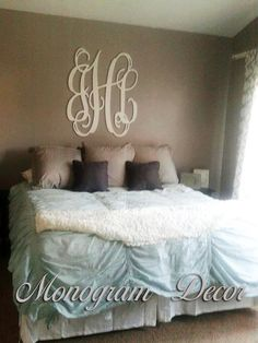 Wooden Monogram Wall Hanging large wooden monogram wall hanging letters for nursery, letters