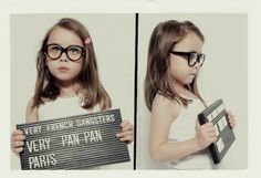 Cute photo idea. Loved this since I saw it on will and grace