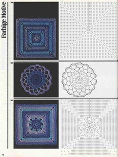 "Photo from album ""Burda узоры"" on Yandex. Crochet Flowers, Views Album, Crochet Stitches, Crochet Necklace, Yandex Disk, Mea Culpa, Appliques, Crocheting, Tejidos"