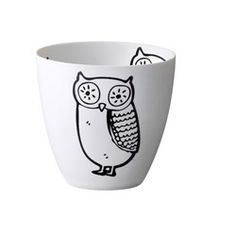 Telysestake ugler House Doctor, Christmas Owls, Christmas Crafts, White Cups, Coffee Cups, Unique Gifts, Creations, Pottery, Tableware