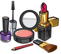 Resultado de imagem para maquiagem desenho png