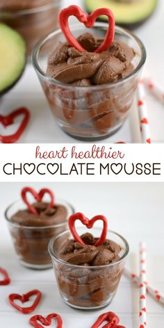 Heart Healthier Chocolate Mousse Recipe