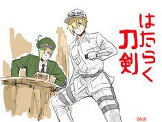 Anime Crossover, Touken Ranbu, Sword Art Online, Fictional Characters, Manga, Manga Anime, Manga Comics, Fantasy Characters, Manga Art