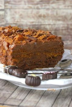 Preparation time: 20 min Cooking time: 10 min For 6 people: chocolate gavottes speculoos Thermomix Desserts, Köstliche Desserts, Chocolate Desserts, Delicious Desserts, Sweet Recipes, Cake Recipes, Dessert Recipes, Cheesecakes, Coco