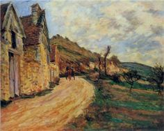 Rocks at Falaise near Giverny - Claude Monet
