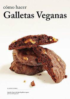 """""""Cómo hacer Galletas Veganas"""" revista de galletas veganas parece la biblia de las galletitas ;)"""