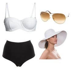 """""""Untitled #9"""" by kkpineapples on Polyvore featuring Canvas by Lands' End, La Perla, Tom Ford and Eric Javits"""