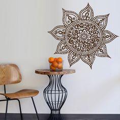 Wall Decal Vinyl Mural Sticker Art Decor Bedroom Yoga Kitchen Ceiling Mandala Menhdi Flower Pattern Ornament Om Indian Hindu Buddha (Z2853) StickersForLife http://www.amazon.com/dp/B00LMDPBLM/ref=cm_sw_r_pi_dp_eQVfvb1D8CCQ0