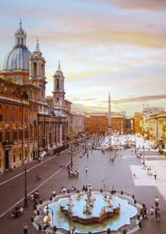- List of Top Rome Landmarks to help you experience Italy Piazza Navona, Rome Travel, Italy Travel, Places To Travel, Places To See, Visit Rome, Rivers And Roads, City Aesthetic, Rome Italy