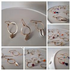 Carmen Veca Monili: Mono orecchini Bangles, Bracelets, Hoop Earrings, Jewelry, Fashion, Moda, Jewels, Fashion Styles, Schmuck
