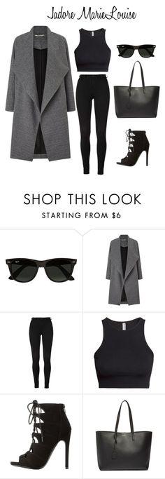 """Untitled (LOOK #162)"" by marielouisegray ❤ liked on Polyvore featuring Ray-Ban, Miss Selfridge, H&M, Charlotte Russe and Yves Saint Laurent"
