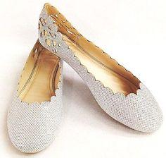 Bamboo Women's Shoe Mesh Glitter Cut out Comfort Ballet Flat Lightweigh New