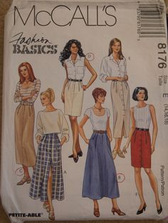 McCall's 8176 skirts.