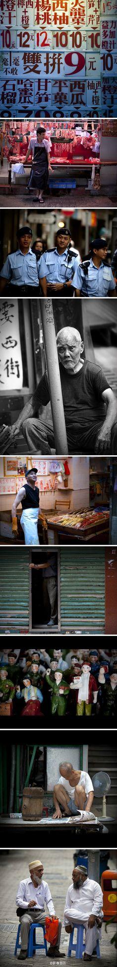 great photos of HK life