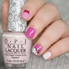 When I posted a posted a shot of my Hello Kitty mani on Instagram last week, you guys got pretty excited. Seems Kitty White has a lot of fans out there!