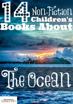 Children's Books about the Ocean - Only Passionate Curiosity