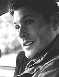 his smile!! Jensen Ackles Dean Winchester - Supernatural gif