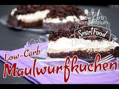 Low-Carb Maulwurfkuchen 🤩 der cremig-krümelige Kuchen mit Obst