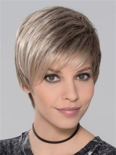 You Wig by Ellen Wille: The machine wefted cap features extra tulle lining underneath the sides for more comfort and durability. This truly is a no fuss lightweight wig that will have you ready for summer. - August 18 2019 at Short Pixie Haircuts, Pixie Hairstyles, Short Hairstyles For Women, Short Hair Cuts, Short Hair Styles, Goth Hairstyles, Hairstyles 2016, Modern Hairstyles, Blonde Pixie