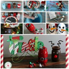 @HavingFunSaving adorable Christmas crafts to do with the kids, including our Santa's Message Plate and Deluxe Ornament Kit from OSA KIDS!