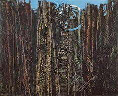 Max ERNST (Brühl, 1891 - Paris, 1976) La Forêt 1927 Huile sur toile 80,7 x 100 cm Don de l'artiste en 1931 © ADAGP © Musée de Grenoble