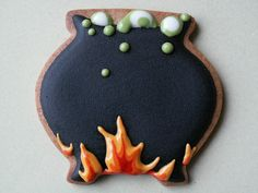 Halloween cookies by Honeycat Cookies, via Flickr