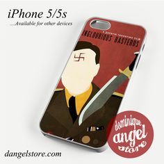 Movie Poster Inglourious Basterds Phone case for iPhone 4/4s/5/5c/5s/6/6s/6 plus