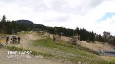 Time Lapse Whistler Pike Park, July 15th afternoon