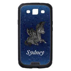 Samsung Case Dark pegasus illustration Galaxy SIII Covers